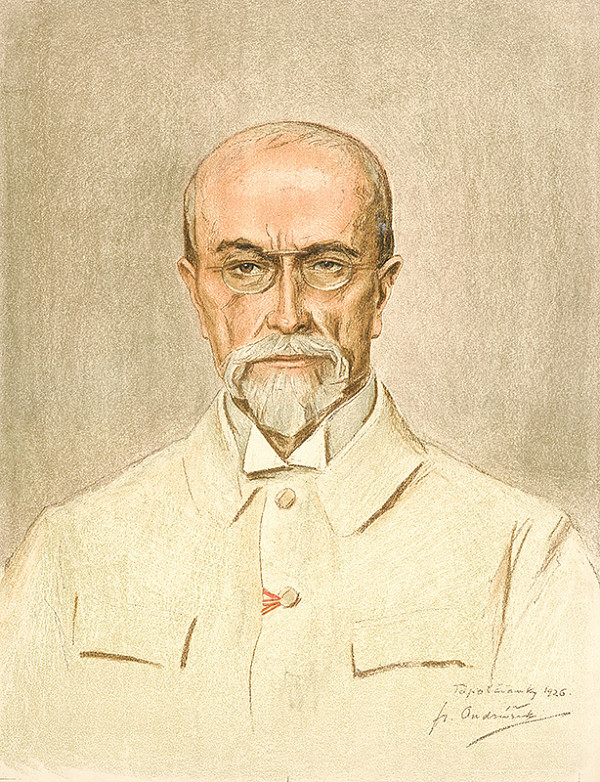 František Ondrúšek – Portrét Tomáša G.Masaryka