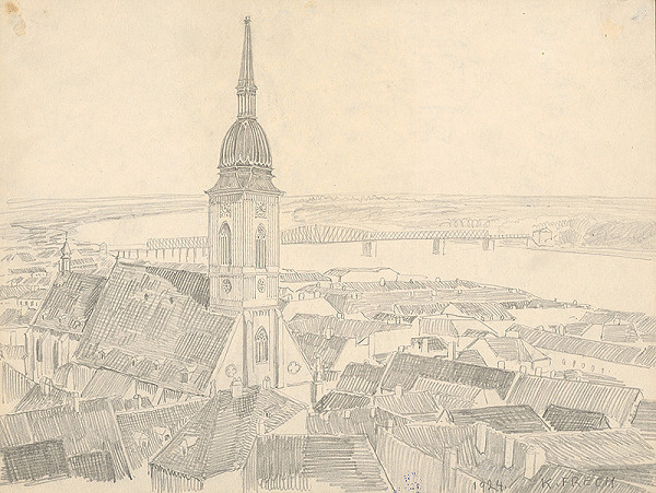 Karol Frech - Strechy Bratislavy