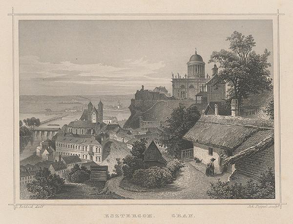 Johann David Poppel, Ludwig Rohbock - Ostrihom