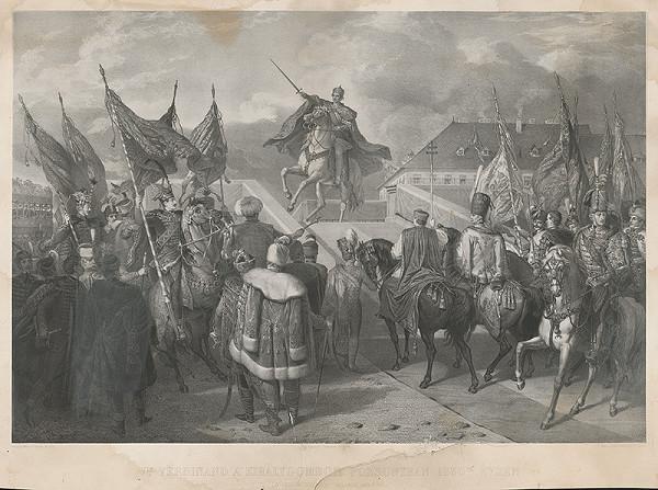 Auguste Charpentier, Henrik Weber - Ferdinand V. na korunovačnom vŕšku v Bratislave