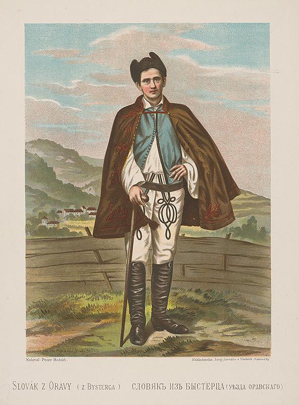Peter Michal Bohúň - Slovák z Oravy-z Bysterca