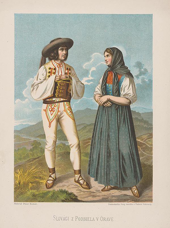 Peter Michal Bohúň - Slováci z Podbiela na Orave