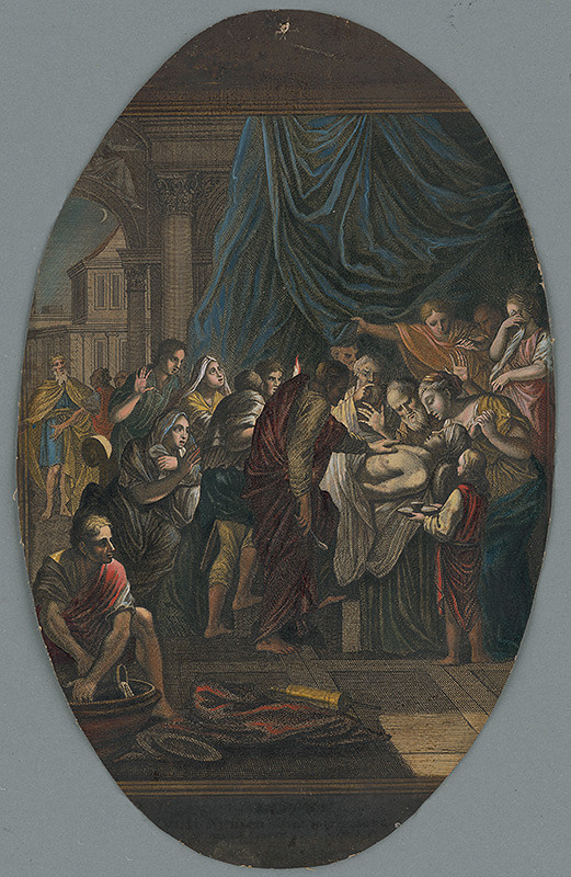 Caspar Luyken, Christoph Weigel st. – Smrť prvorodeného faraónovho syna