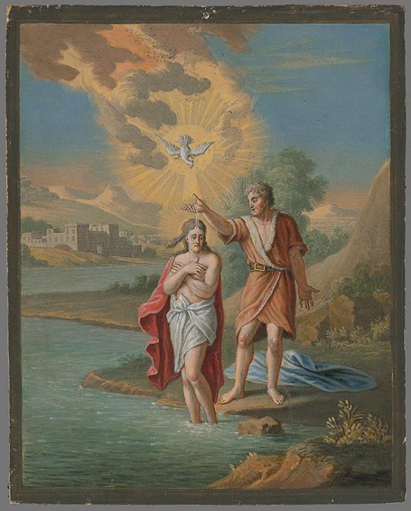 Caspar Luyken, Christoph Weigel st. - Krst Krista