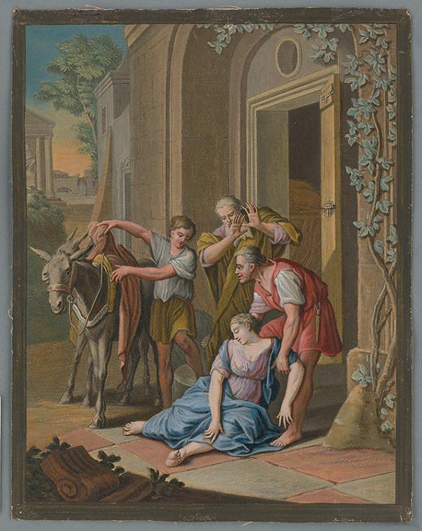 Caspar Luyken – Hanebný čin - Levita našiel svoju konkubínu znásilnenú a mŕtvu na prahu