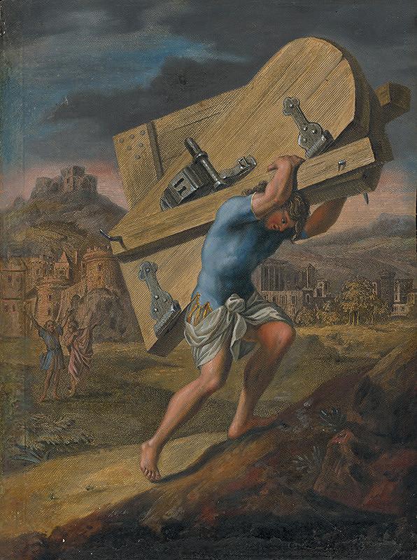 Caspar Luyken, Christoph Weigel st. – Samson a brány Gazy