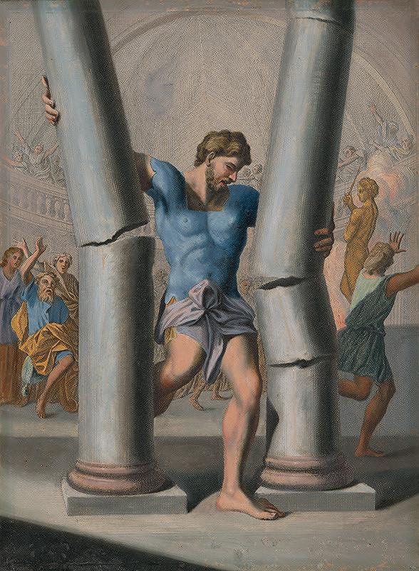 Caspar Luyken, Christoph Weigel st. – Samsonova smrť