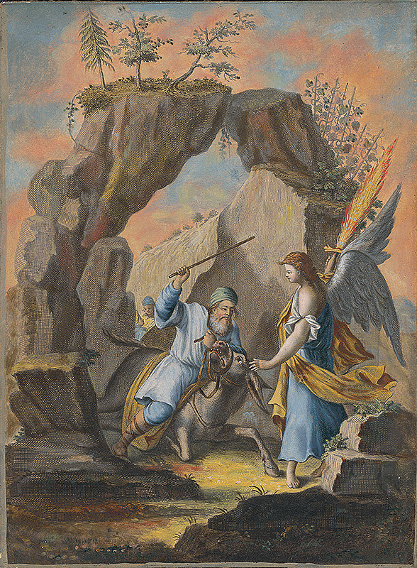 Stredoeurópsky maliar zo 17. storočia - Baálamova oslica