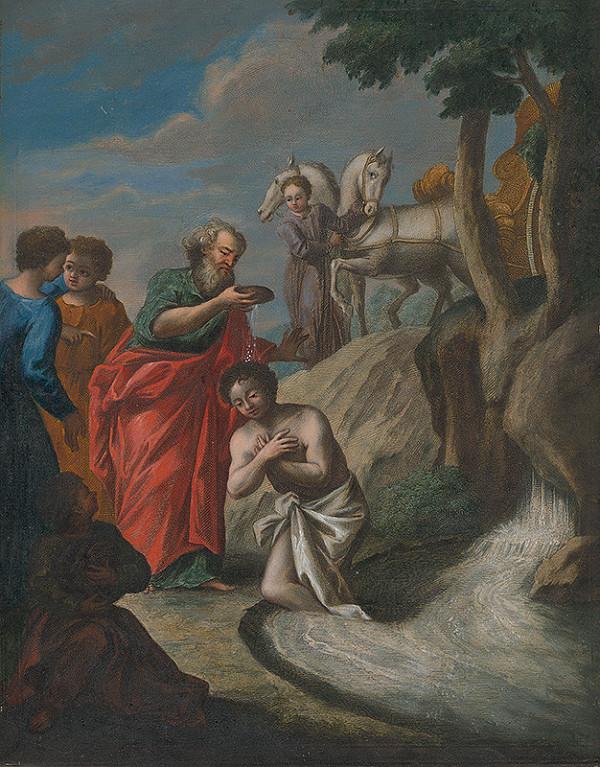 Caspar Luyken – Filip krstí etiópskeho eunucha