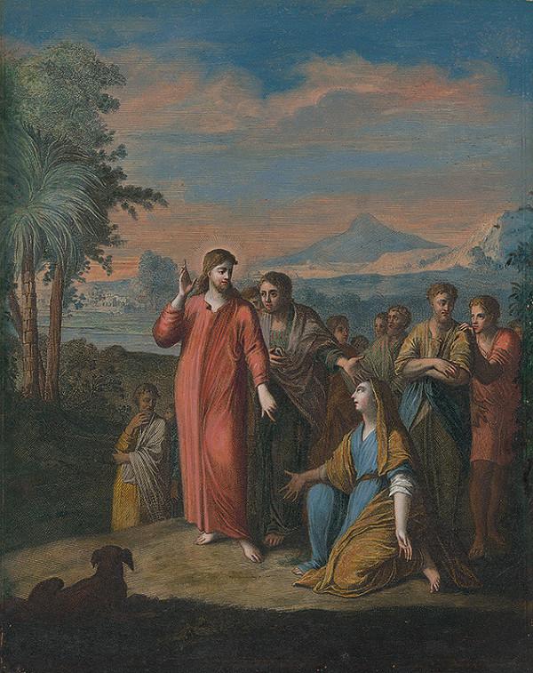 Caspar Luyken - Uzdravenie dcéry kanaánskej ženy