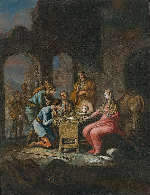 Jan Luyken, Christoph Weigel st. - Klaňanie pastierov