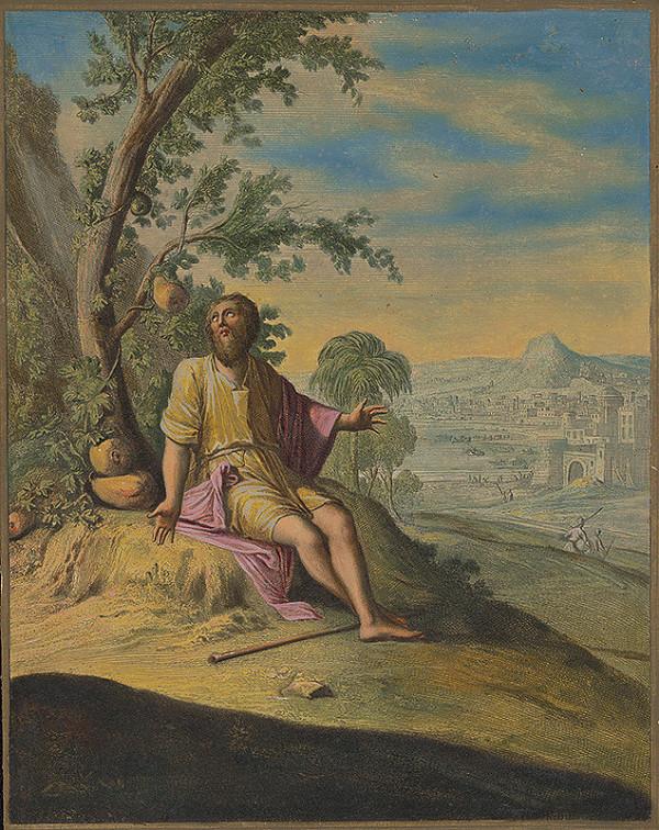 Caspar Luyken, Christoph Weigel st. – Jonáš sedí pod ricinovým krom