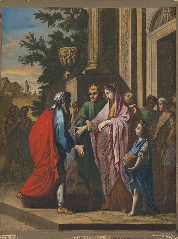 Caspar Luyken, Christoph Weigel st. - Abrahám a Abimelech
