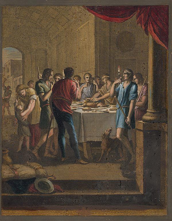 Caspar Luyken, Christoph Weigel - Izraeliti jedia baránka