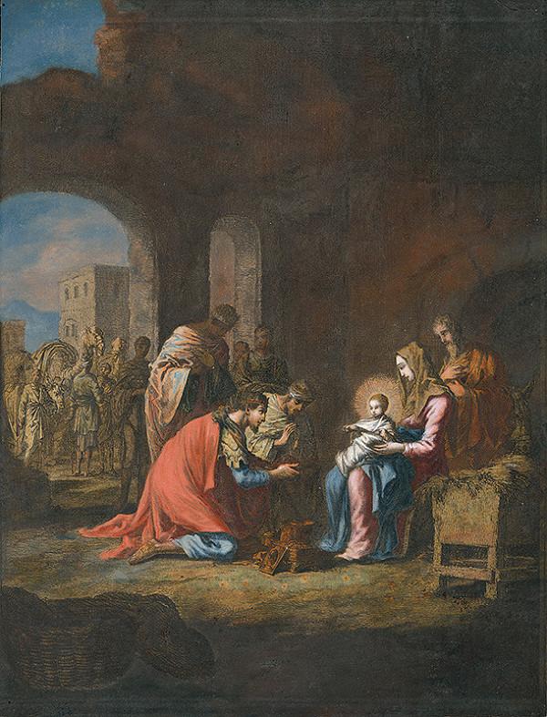 Jan Luyken, Christoph Weigel st. - Klaňanie troch kráľov
