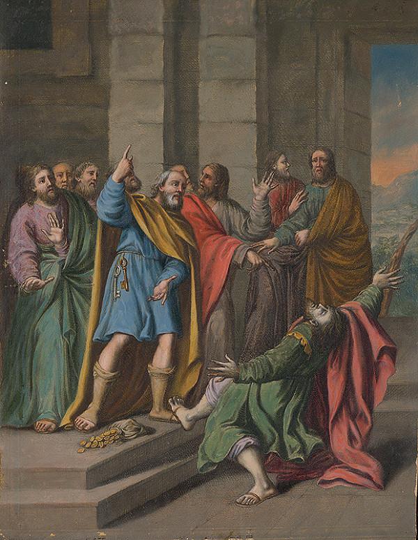 Stredoeurópsky maliar zo 17. storočia – Zapredanie Krista