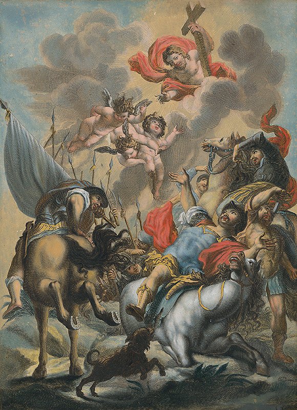 Johann Georg Hertel, Gottfried Bernhard Göz – Obrátenie svätého Pavla