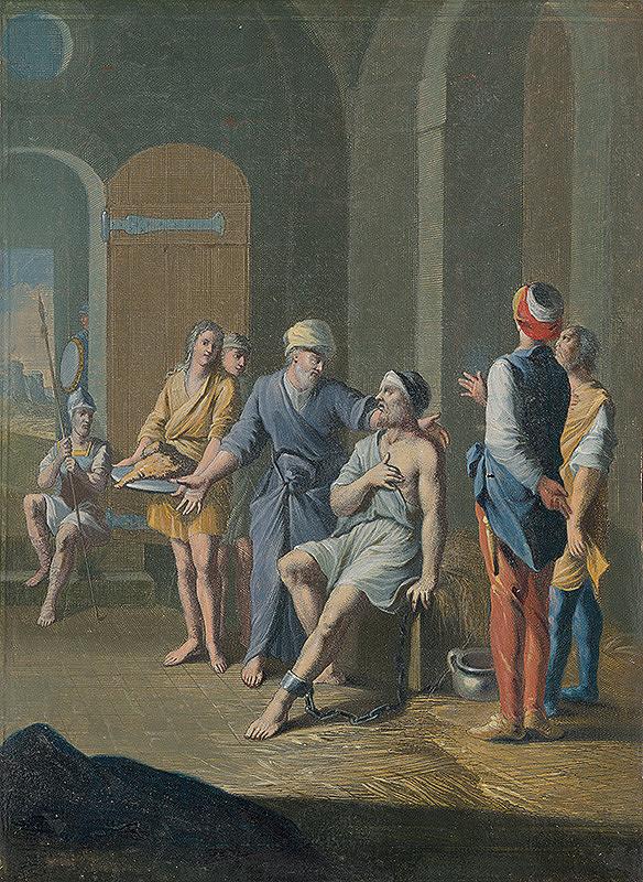 Caspar Luyken, Christoph Weigel st. - Navštívenie väzňa