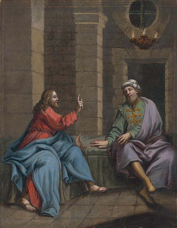Francesco Antonio Meloni, Christoph Weigel - Ježišov rozhovor s Nikodémom