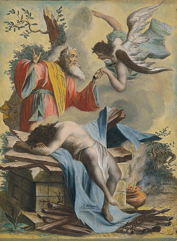 Stredoeurópsky maliar zo 17. storočia - Obetovanie Izáka