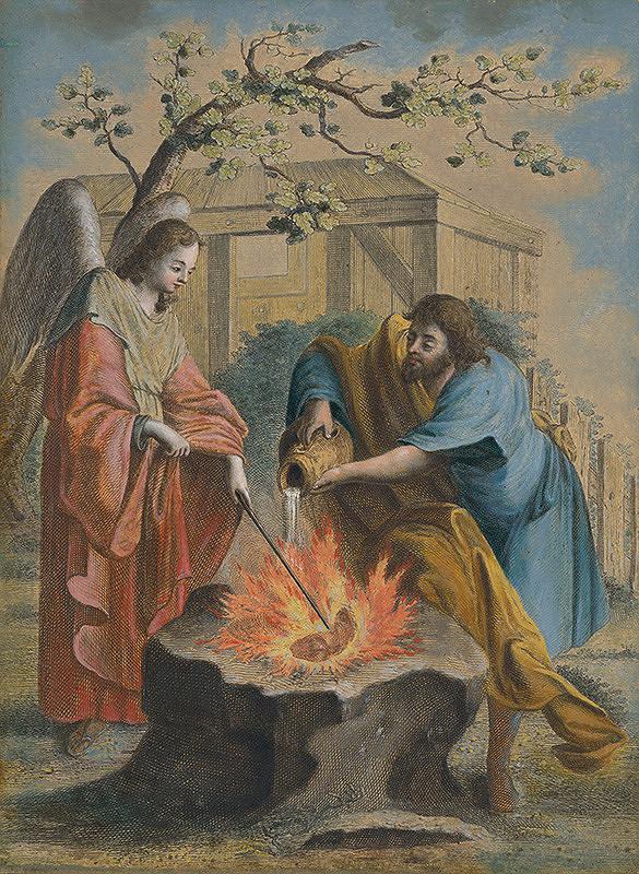 Stredoeurópsky maliar zo 17. storočia - Biblický motív