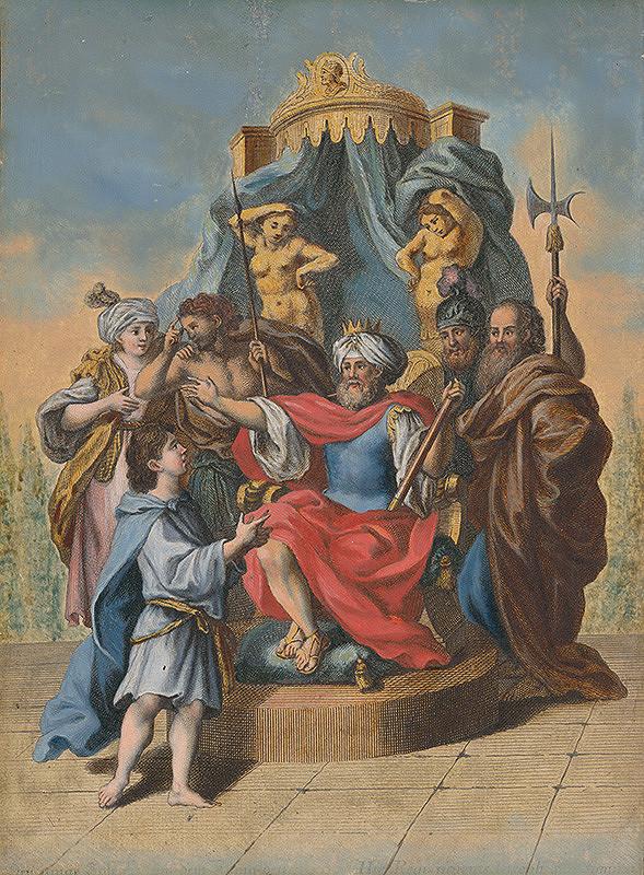 Stredoeurópsky maliar zo 17. storočia – Jozef vykladá sny faraónovi
