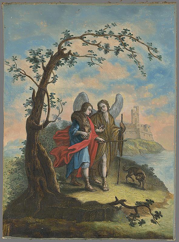 Johann Georg Hertel – Tobiáš a anjel