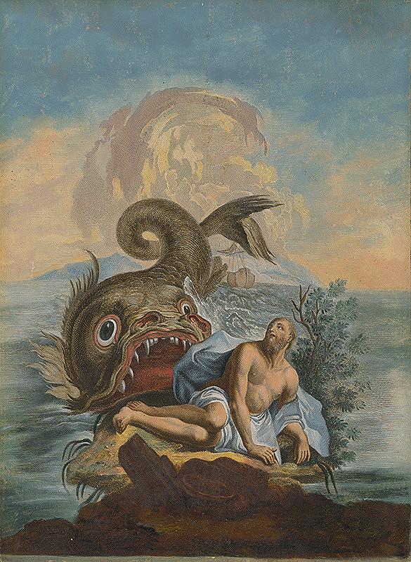 Stredoeurópsky maliar zo 17. storočia - Jonáš a veľryba