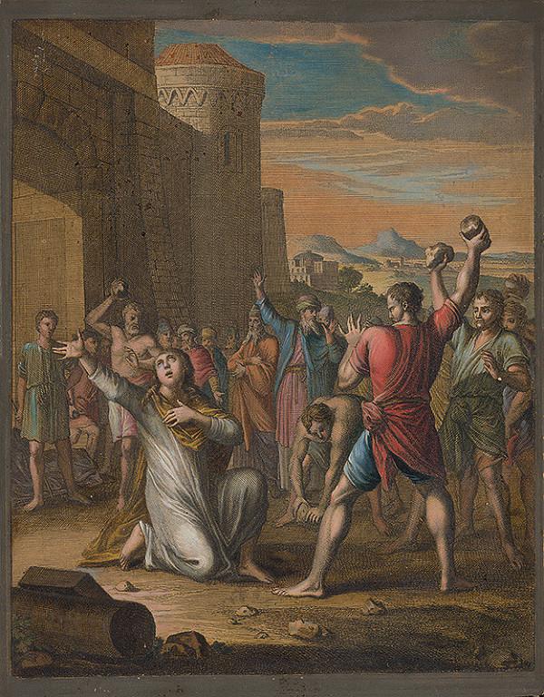 Caspar Luyken, Christoph Weigel st. - Ukameňovanie svätého Štefana