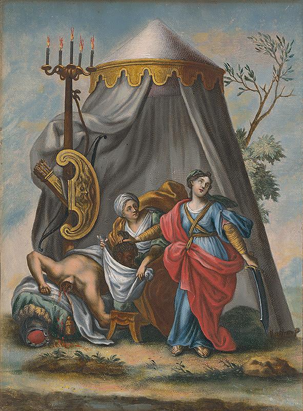 Stredoeurópsky maliar zo 17. storočia - Judita zabíja Holoferna