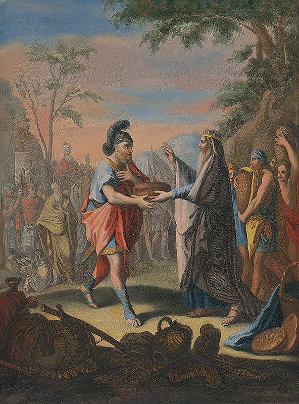 Caspar Luyken – Abrahám a Melchizedek