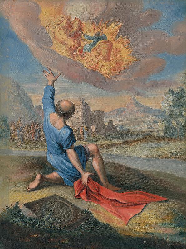 Caspar Luyken, Christoph Weigel st. – Eliáš a Eliseus