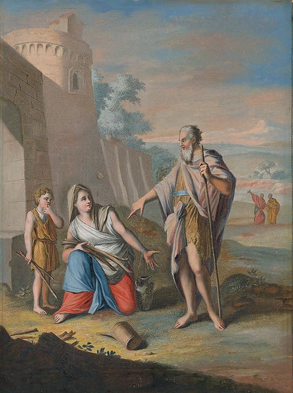 Caspar Luyken, Christoph Weigel st. – Prorok Eliáš v Sarepte