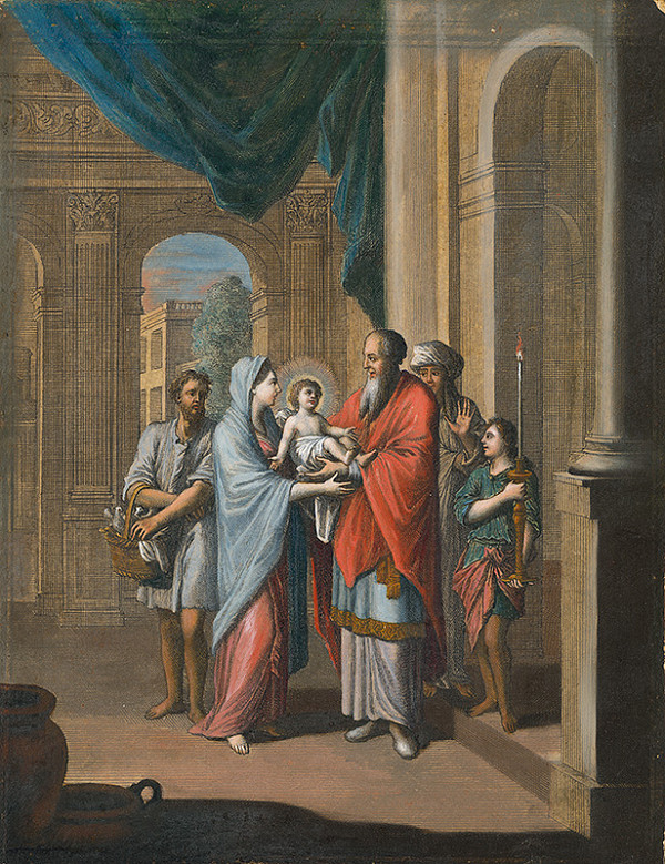 Caspar Luyken, Christoph Weigel st. – Obetovanie Ježiša v chráme