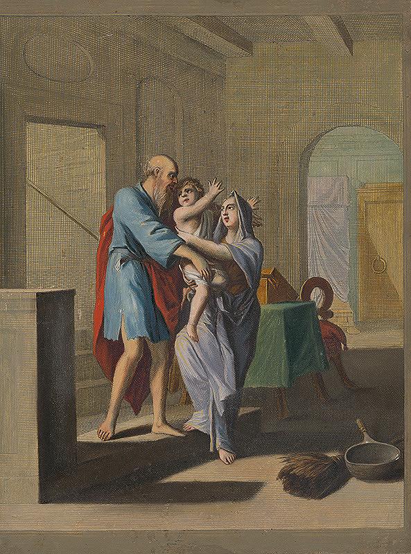 Caspar Luyken, Christoph Weigel st. – Prorok Elizeus