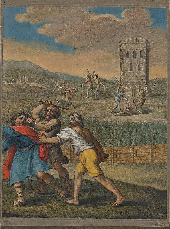 Caspar Luyken, Christoph Weigel st. – Podobenstvo o zlých vinohradníkoch