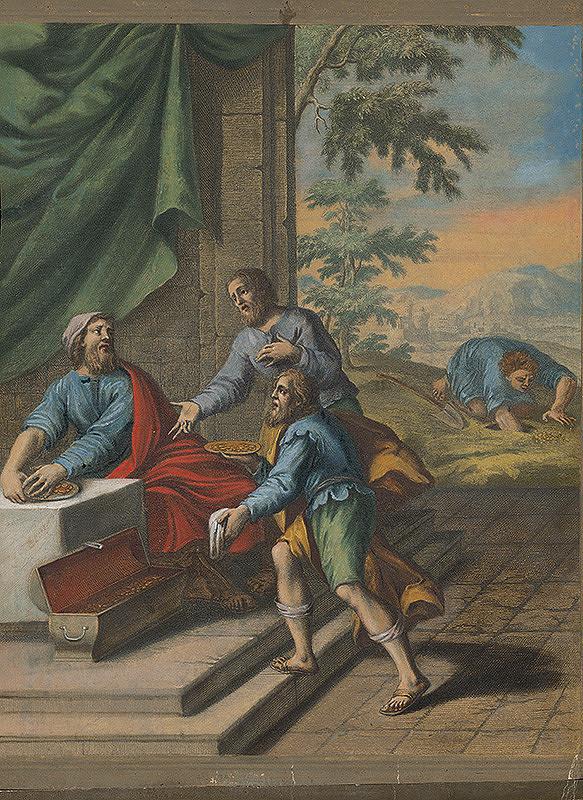 Christoph Weigel st. – Podobenstvo o hrivnách