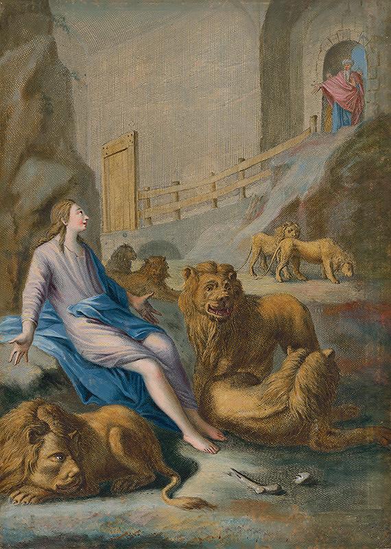 Caspar Luyken, Christoph Weigel st. – Daniel v jame levovej