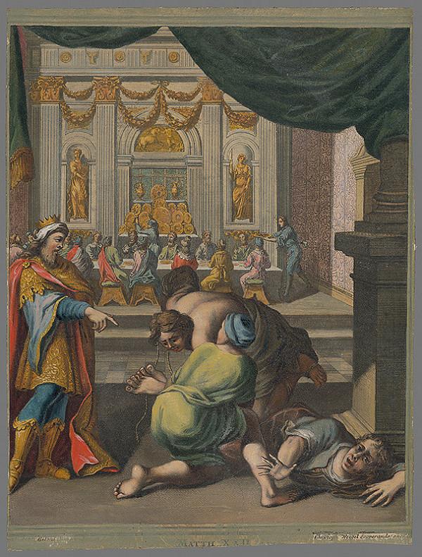 Christoph Weigel, Francesco Antonio Meloni - Podobenstvo o svadbe kráľovho syna
