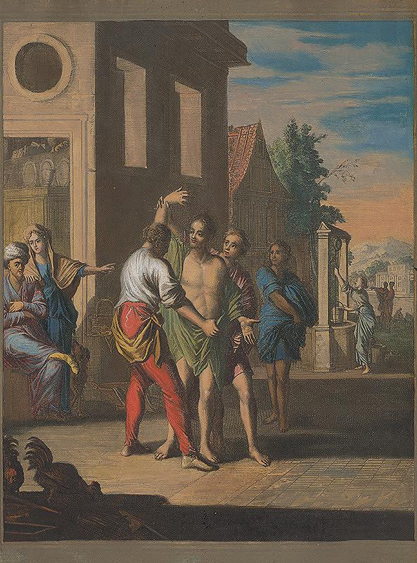 Caspar Luyken, Christoph Weigel st. – Odievanie nahého