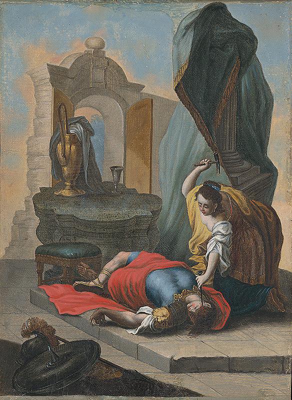 Stredoeurópsky maliar zo 17. storočia - Jáhel zabíja Sisara
