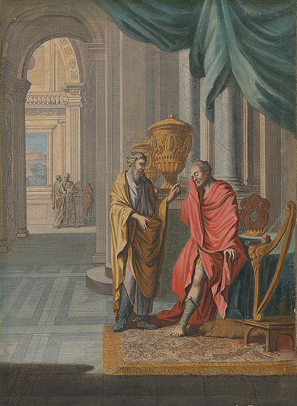 Caspar Luyken, Christoph Weigel st. – Natán konfrontuje Dávida