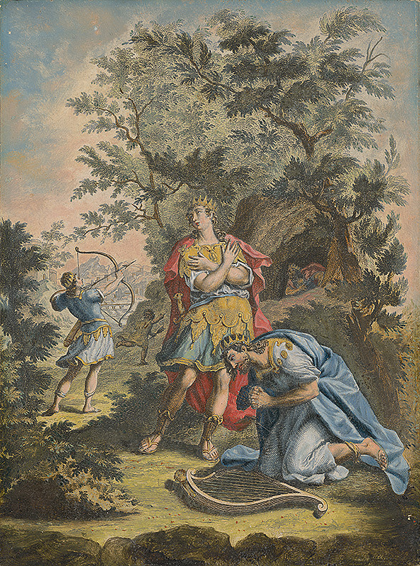 Stredoeurópsky maliar zo 17. storočia – Kráľ Dávid
