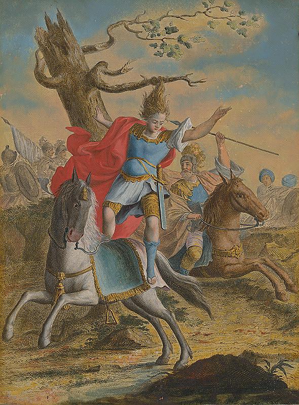 Stredoeurópsky maliar zo 17. storočia - Smrť Absolóna