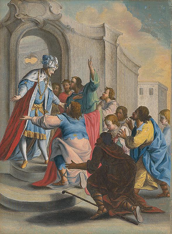 Stredoeurópsky maliar zo 17. storočia – Jozef sa dáva spoznať svojim bratom
