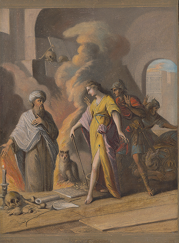 Caspar Luyken, Christoph Weigel st. – Saul u veštkyne z Endoru