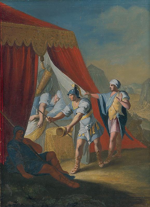 Caspar Luyken, Christoph Weigel st. – Dávid ušetril Saulov život