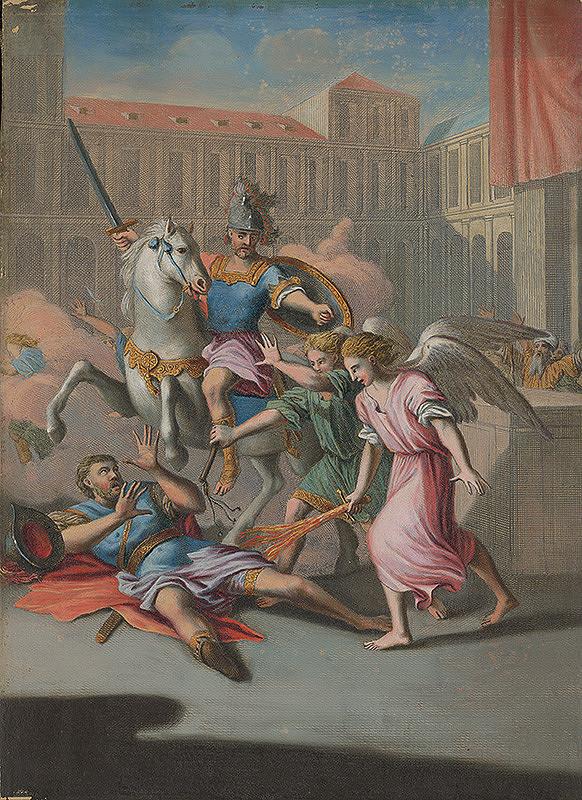 Caspar Luyken, Christoph Weigel st. – Smrť Heliodora