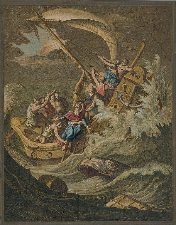 Jan Luyken, Christoph Weigel - Jonášov útek