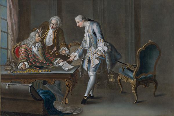 Sébastien Le Clerc ml. – Otec rozdeľuje svoj majetok medzi svojich dvoch synov (1.)
